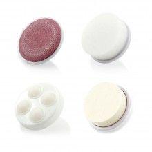 Perie EDAR® de masaj si ingrijire faciala cu 5 capete incluse, 5in1, imbunatateste fermitatea pielii, exfoliaza