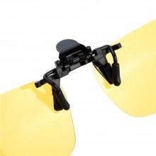 Lentile EDAR® pentru ochelari cu clips, polarizate, ideale pentru condus noaptea
