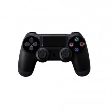 Controller SIKS® compatibil PS4, fara fir, wireless, cu cablu USB, negru