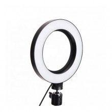 Lampa circulara SIKS® mica cu led pentru fotografii