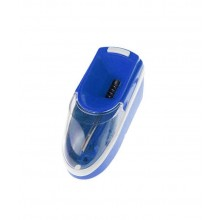 Masina electica EDAR® de facut tigari, cu alimentator si perie, albastru