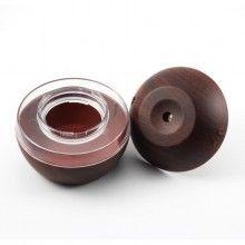 Umidificator aromaterapie SIKS® difuzor pentru uleiuri esentiale, alimentare USB, culoare lemn inchis