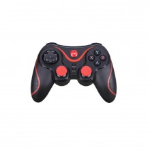 Controler Wireless X7 SIKS® cu suport pentru telefon, controler de joc, Negru