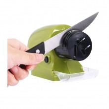 Ascutitor electric SIKS® pentru cutite, verde, 6,5 x 24 x 16,5 cm