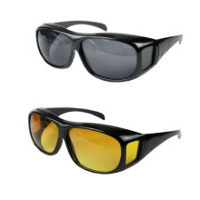 Ochelari pentru condus EDAR®, set din 2 bucati, ochelari de zi si de noapte unisex