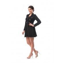 Rochie dama stil sacou culoarea negru masura L