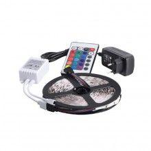 Kit banda LED SIKS® flexibila, lungime 5m cu telecomanda