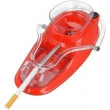 Aparat EDAR® electric pentru injectat tutun, rosu