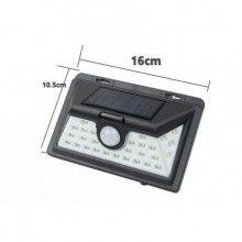 Lampa solara EDAR® cu senzor de miscare, de perete, 32 led