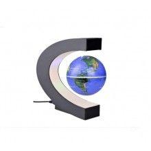 Glob magnetic levitant EDAR® rotatie automata, glob pamantesc, lumini led