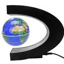 Glob magnetic SIKS® plutitor, glob pamantesc levitant, lumini led