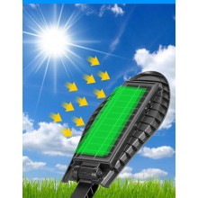 Panou solar EDAR® lampa iluminat stradal, cu telecomanda, senzor de miscare