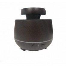 Difuzor aroma EDAR® umidificator ultrasunete, 550 ml, lemn inchis