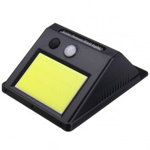 Lampa EDAR® solara cu senzor de miscare, monatre pe perete, 48 led