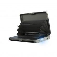 Portofel securizat SIKS® cu baterie externa, sistem anti furt