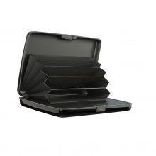Portofel anti-furt EDAR® securizat, baterie externa, gri