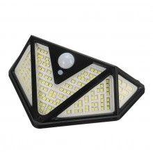 Panou solar EDAR® cu senzor de miscare, 166 de led-uri