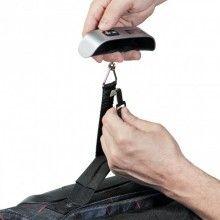 Cantar cu afisaj electronic SIKS® pentru bagaje si colte, negru