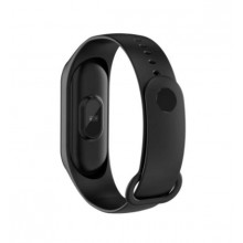 Bratara fitness SIKS®, masurare ritm cardiac si alte functii ale organismului, USB, Bluetooth, culoarea neagra