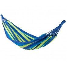 Hamac SIKS® dimensiune 190x75, max 120 kg, multicolor albastru