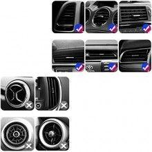 Incarcator wireless SIKS® suport telefon auto, S5, 10 V, incarcare rapida, auriu