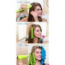 Set 16 bigudiuri pentru ondulare SIKS®, multicolore