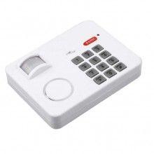 Alarma Wireless cu senzor de miscare, SIKS®, Alb