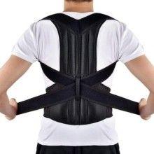 Suport SIKS® corector pentru spate, negru, marimea M