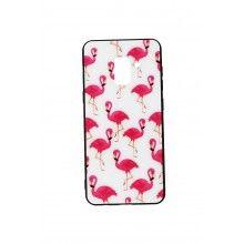 Husa Samsung Galaxy A5/A8 cu flamingo