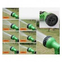 Furtun expandabil SIKS® pentru gradina, cu reglare presiune, cu dimensiunea pana la 22.5 m