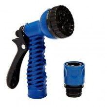 Furtun expandabil SIKS® pentru gradina, cu reglare presiune, cu dimensiunea pana la 22.5 m, albastru