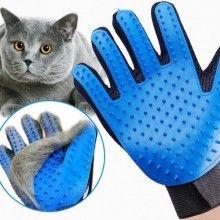 Manusa pentru curatarea SIKS® parului de animale, albastru/negru