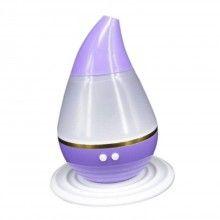 Umidificator SIKS® cu ultrasunete, 7 culori LED, ajuta la purificarea aerului, mov