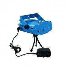 Mini proiector cu jocuri de lumini SIKS® MLSC05, interior/exterior, motive Craciun albastru