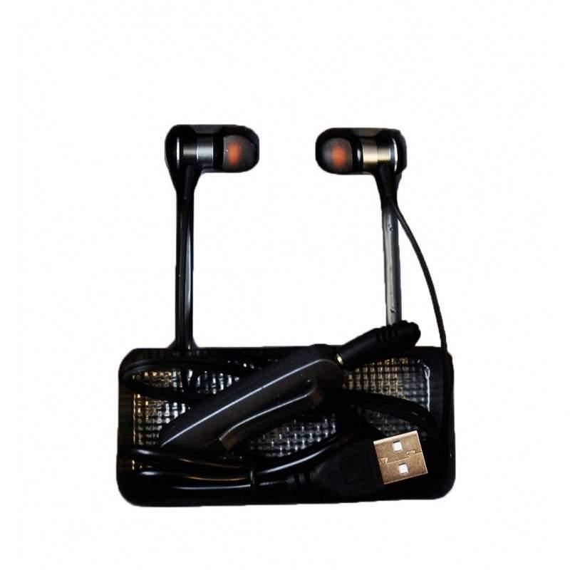 Casti Wireless Bluetooth 5.0 SIKS®, Compatibile cu iOS si Android, AZ-29, port de incarcare microUSB, fast charging