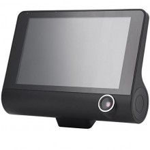 Camera Video SIKS® Auto Tripla DVR, Full-HD, 3 Camere, Ecran 4'', G Senzor, 170 grade