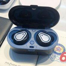 Casti Wireless SIKS® Bluetooth 5.0 cu super bass si reducerea zgomotului 207, Bleumarin