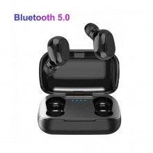 Casti Bluetooth 5.0, SIKS®, rezistente la apa, calitate inalta a sunetului, super bass, negre