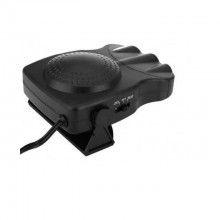 Aeroterma auto SIKS® functie de racire si incalzire, 2 in 1, rotire 360 grade, negru