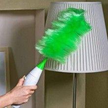 Pamatuf electric SIKS® pentru curatare si inlaturare praf, Verde