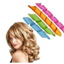 Set 16 bigudiuri flexibile SIKS®, usor de aplicat, multicolore
