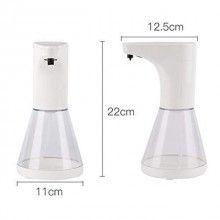 Dispenser pentru sapun/detergent SIKS®, alb/transparent