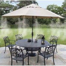 Sistem racire SIKS® pentru terasa, prin pulverizare, 20 m, potrivit pentru restaurant/casa