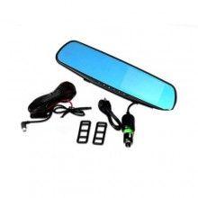 Camera auto SIKS® video, full hd, oglinda retrovizoare, cablu de conectare, 2 camere