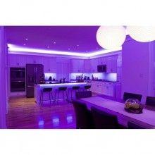 Kit Banda LED RGB 5050 60 led/m 5 metri IP20+Telecomanda 44 taste cu IR+Transformator 12V 6А