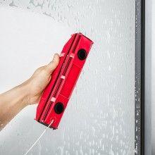 Stergator magnetic SIKS® pentru geamuri cu sistem de siguranta