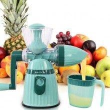 Storcator SIKS® manual pentru fructe si legume, culoarea albastru