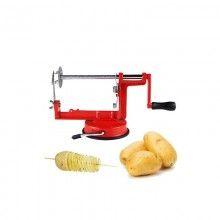 Dispozitiv SIKS® pentru taiat cartofi in spirala, rosu