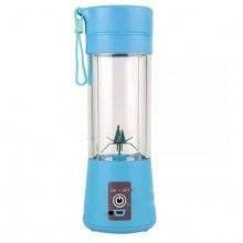 Mini blender portabil SIKS® 400 ml, albastru