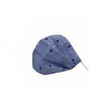 Masca pentru adulti SIKS®, reutilizabila, realizata din material textil, 21x8.5 cm, Albastru